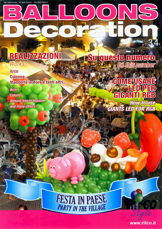 Balloons world store for Balloon decoration courses dvd
